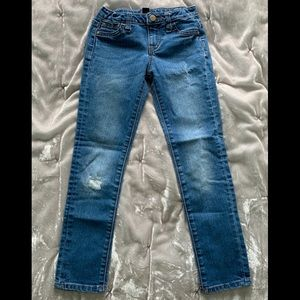 Girls Gap Distressed Super Skinny Jeans